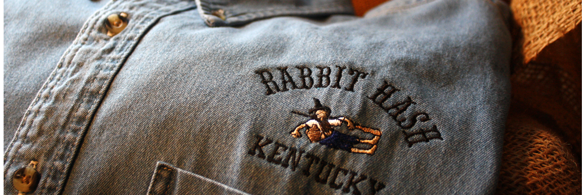 Rabbit Hash denim shirt