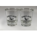Shot Glass with Herb the Hillbilly logo