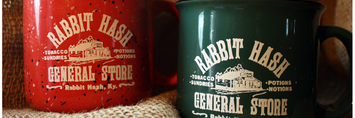 Rabbit Hash mugs